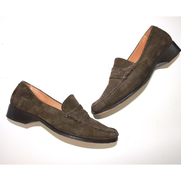 Cole Haan Shoes - Cole Haan Vintage Classic Leather Handmade Loafer